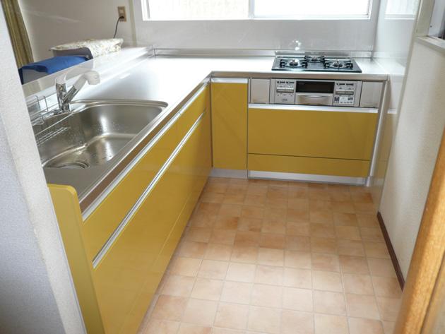 収納力を重視したキッチン取替え:導入後の様子